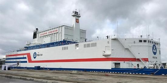最强移动电源!俄罗斯展示世界首座浮动核电站
