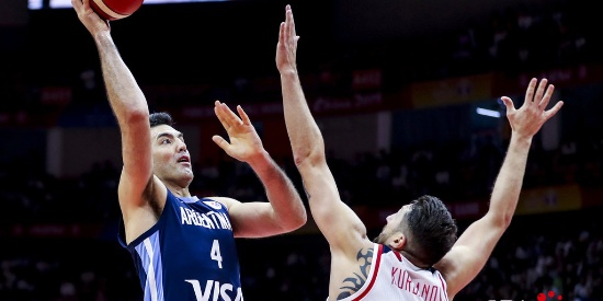 篮球世界杯:阿根廷男篮三战全胜晋级世界杯十六强