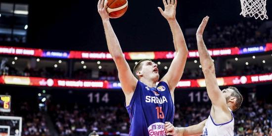 篮球世界杯:塞尔维亚胜意大利锁定小组头名