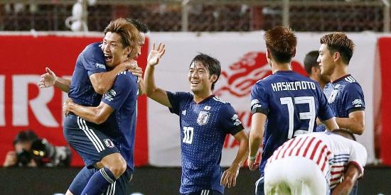 热身:日本2-0巴拉圭