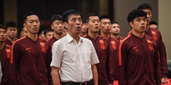 国足世预赛出征 陈戌源里皮发言