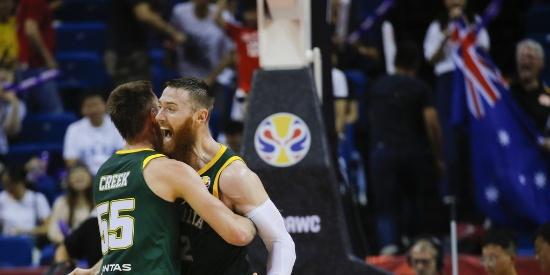 篮球世界杯-澳大利亚力克法国夺L组头名