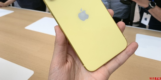 iPhone 11真机图赏:LCD屏六色双摄像头配置