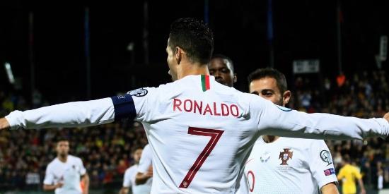 欧预赛:葡萄牙5-1立陶宛