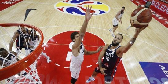 篮球世界杯-美国男篮13年大赛首败 法国晋级四强