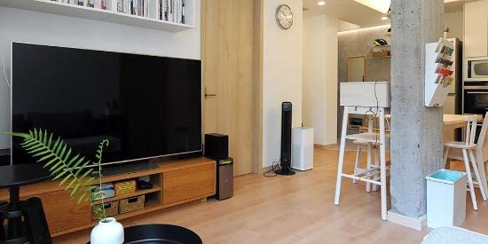 舒适温馨的日式家居,空间动静线分区很棒