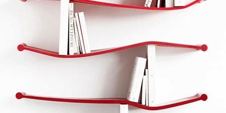 弹性十足的创意书架,把书架调成自己喜欢的方式-图片之家