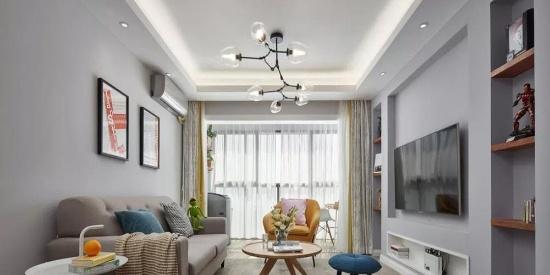 宜家风家具为主,让空间协调灵动,朴实的氛围