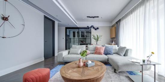 尚设计空间设计  140㎡现代简约的舒适