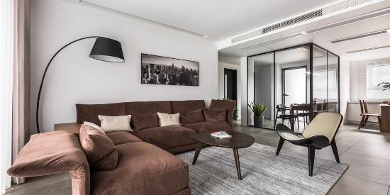 华彩国际公寓北欧风格装修效果图