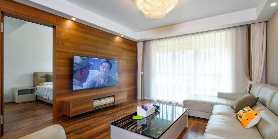 大户型三居室客厅简约风格装修效果图--客厅装修效果图-图片之家