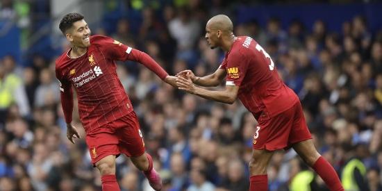 英超-菲尔米诺头槌坎特世界波!利物浦2-1切尔西