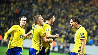 欧预赛:西班牙1-1平瑞典
