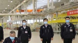 中国支线涡桨飞机MA700的第一架原型机交付