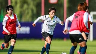 武汉江大女足重返武汉训练 众多国脚回归