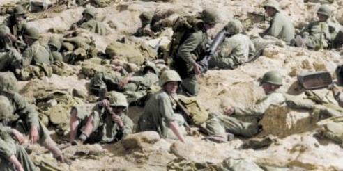 老照片:珍惜如今的和平,残酷的太平洋战争