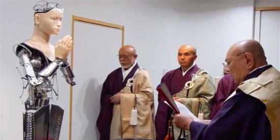 机器人进军佛教领域传播佛法教义,科技发展,促使寺庙与时俱进