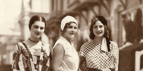 1930年欧洲小姐选美比赛,全是大脸盘