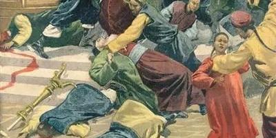 欧美画报里的义和团运动