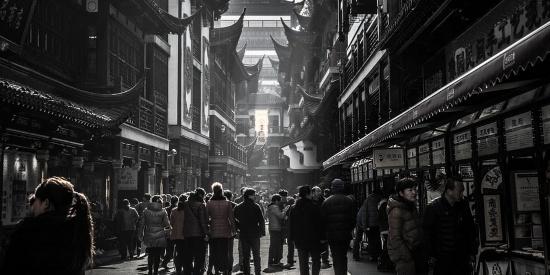 老照片:外国人拍摄的80年代的中国