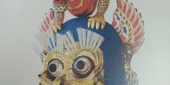历史文物兰陵王面具和迦楼罗面具很奇特。