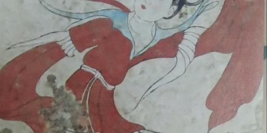 历史文物大唐壁画