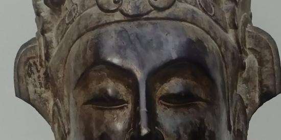 历史文物隋朝石雕像