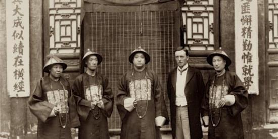【老照片】1904年,孔府孔庙孔林孔子后裔