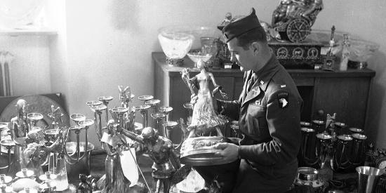 1945年二战结束后部分老照片,德国恢复教育美国研发高科技