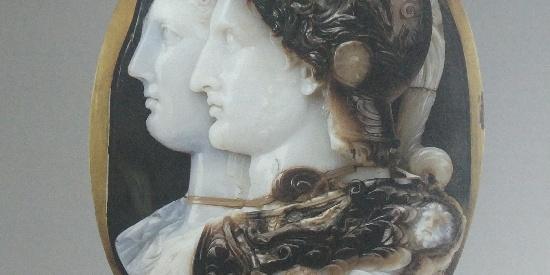 历史古希腊文明贡扎戈的浮雕宝石