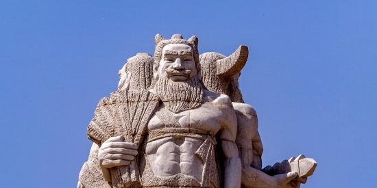炎黄子孙:炎帝打不过蚩尤,与黄帝结盟杀死蚩尤,与黄帝打仗兵败