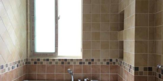 装修卫生间壁龛,图片不漂亮,手艺真不错