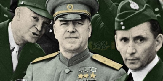 """朱可夫的上色彩照:出国访问途中,被强制退休的""""苏联战神"""""""
