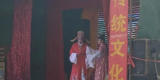 安徽合肥:弘扬传统文化 感受庐剧魅力