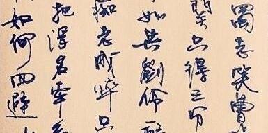 徐静蕾的硬笔书法有三个明显的特点:一是娴熟,二是省简,三是青