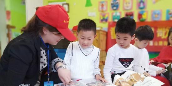 """安徽合肥:""""世界读书日"""" 开展""""童心如歌 书香如蜜""""读书活动"""