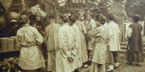 清朝生活老照片,记录那个年代生活的点滴