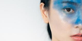 蓝色时尚摄影作品