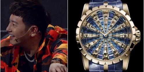 说唱本身就是冠军,《中国新说唱》里面的手表