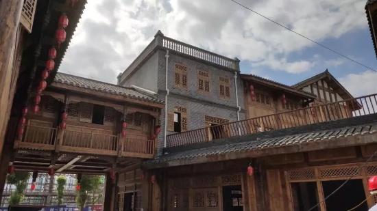 将至桐城_桐梓桐城记忆风情小镇7栋建筑主体已完工