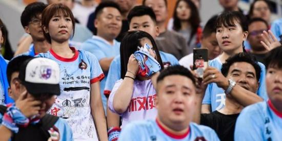 中超第17轮天津天海战平深足多轮不胜,赛后球员与球迷比较失望