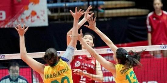 女排世界杯:中国队战胜巴西,拿下6连胜!