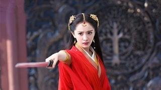 古装剧中的红衣女神,迪丽热巴、赵丽颖都在