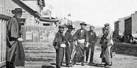 沙俄时代的海参崴罕见老照片