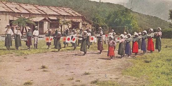 """老照片:日据时期的台湾,""""皇民化教育""""荼毒新生代!"""