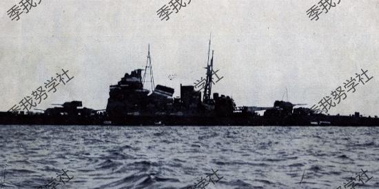 国外组图:20世纪30年代的日本巡洋舰 最后全成侵略工具