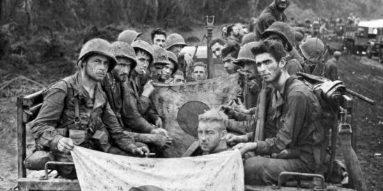 血战新几内亚:15张二战太平洋战场珍贵老照片