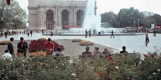 唐僧曾经来过这里:60年代中亚最大城市塔什干老照片