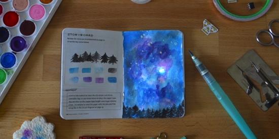 这本可以用电子元件DIY出来的笔记本到底有多酷炫