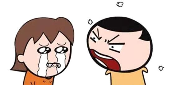 恶搞漫画:不讲理的女朋友